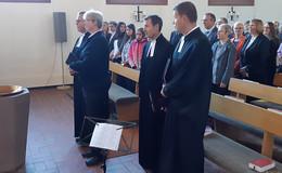 Einführung von Pfarrer Grimm in Bad Salzschlirf
