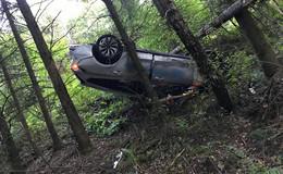 Alleinunfall auf Landstraße: Auto auf L3251 bei Kleinensee überschlagen