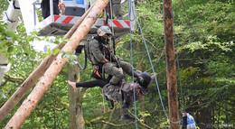 Und das war erst der Anfang: Polizei- und SEK-Einsatz im Dannenröder Forst