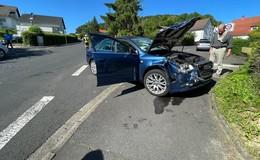 Vorfahrt missachtet und dann krachte es zwischen zwei Audi-Fahrern