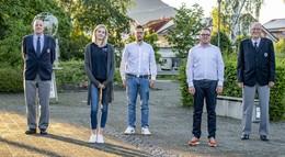 Stadtfeld neuer Vorsitzender, Böhm ist Vize und Zierfuß jetzt Ehrenvorsitzender