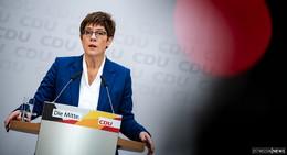 AKK verzichtet auf Kanzlerkandidatur und will auch CDU-Vorsitz abgeben