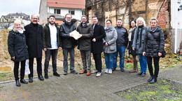 Baugenehmigung für Generationenwohnen in Krämerstraße übergeben