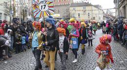 Rosenmontagsumzug in der Karnevalshochburg - Bilderserie (2)