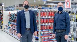 Leinweber Baucentrum in Dorfborn neueröffnet: Optimiertes Sortiment