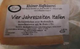 Salmonellen nachgewiesen: Rhöner Käse-Hersteller muss Produkt zurückrufen