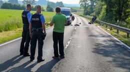Frontalcrash: 18-jähriger Motorradfahrer aus Nüsttal schwer verletzt