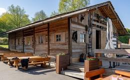 Alm in der Rhön: Die Leute haben die neue Location wirklich gut angenommen