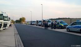 Polizeikontrolle auf der Raststätte Großenmoor: Brummifahrer mit 2,2 Promille