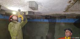 Alter Wasserbehälter in Mackenzell wird Fledermausquartier