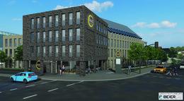 VR-Bankverein baut Hotel mit Tiefgarage in der Benno-Schilde-Straße