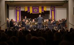 Lions Bonifatius präsentierte das Landespolizeiorchester Hessen