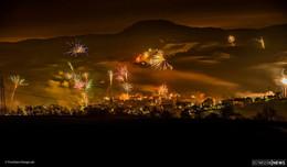 Farbenfroher Start ins neue Jahr - Fotos (66) aus Osthessen und aus aller Welt