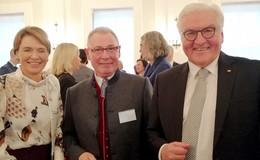 Josef Röll zu Gast beim Neujahrsempfang des Bundespräsidenten