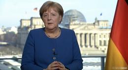 """Bundeskanzlerin Merkel: """"Wie viele geliebte Menschen werden wir verlieren?"""