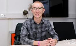 Volt-Spitzenkandidat Moritz Bindewald (18): Startklar für die nächste Etappe