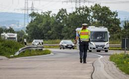 Verstärkte Polizeikontrollen am Sicherheitstag - auch auf der A7