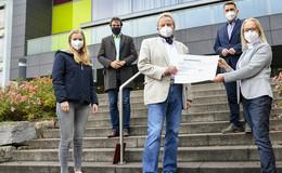 Nach Blutspende-Wetter: DRK Fulda übergibt Spende an Marianum