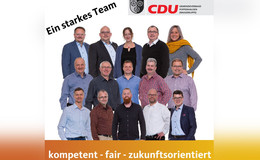 CDU Poppenhausen will Tradition bewahren und Zukunft leben
