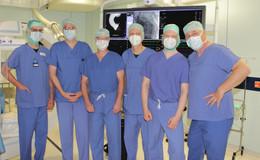 Im HKZ: Herzspezialisten implantieren tausendste Aortenklappe