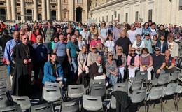 Romwallfahrer aus dem Bistum Fulda feierten Heilige Messe im Petersdom