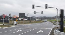 Ampel soll Unfälle verhindern: Entschärfung an der B 458-Kreuzung
