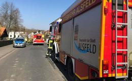 Schaschlikpfanne fängt Feuer: Brand schnell unter Kontrolle