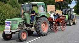 Wald statt Asphalt!: Demonstranten setzen ein klares Zeichen gegen A49