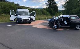 Verkehrsunfall zwischen Stockhausen und Schadges - Zwei Personen verletzt