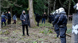 Es geht los in Dannenrod! Polizei bereitet sich intensiv auf Einsätze vor