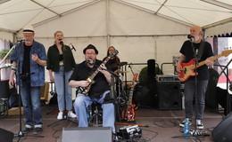 Steve Baker&Michael van Merwyk Band begeistert Publikum - Bilderserie