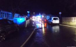 Schornsteinbrand in der Danziger Straße - Bewohner evakuiert