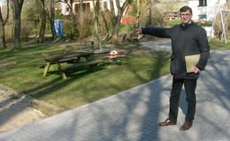 """Umgestaltung des Spielplatzes """"In der Gasse"""" in Großentaft schreitet voran"""