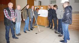 Rhönhalle Frankenheim: Generalsanierung hat begonnen