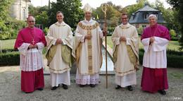 Bischof Dr. Gerber weihte Diakone zu Priestern - Kai Scheffler und Patrick Vey