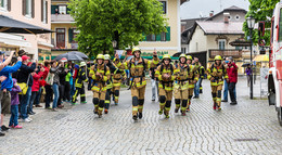 Spendenlauf in Feuerwehrmontur: Feuerwehr Grenztour 2021