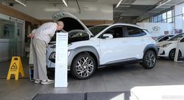 Autohaus Weber und Diel: Hyundai präsentiert neuen Hybrid