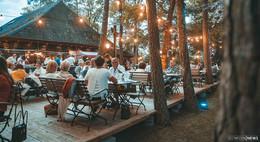 In der Waldgaststätte Praforst: Chill and Grill in besonderem Ambiente