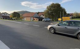 Kreuzung wird entschärft: Stöckelser Straße bekommt Sichtschutzzaun