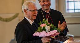 Prof. Gerhard Stanke feiert Goldenes Priesterjubiläum im Hohen Dom