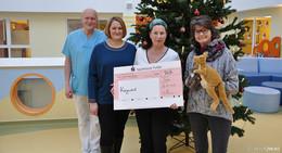 Landkreis Fulda spendet für die kleinen Patienten der Kinderklinik