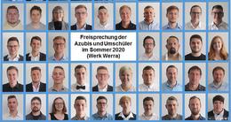 47 Personen haben Ausbildung oder Umschulung im Werk Werra beendet