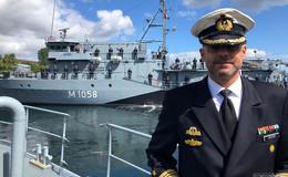 Fregattenkapitän Christian Meister (42) wird rechte Hand von US-Admiral