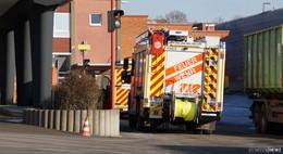 Brand in den Gummiwerken: Lüfter auf dem Dach fangen Feuer