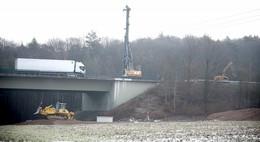 Marode Bauwerke auf der A 7: Insgesamt vier Brücken werden erneuert