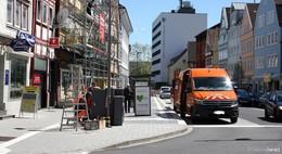 Hessentagsprojekt auf der Zielgeraden: Zentrale Bushaltestelle nimmt Gestalt an