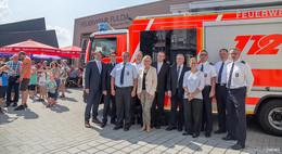 Einweihung nach Fusion: Feuerwehr-Stützpunkt Fulda-Ost ist ein Vorbild