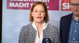 Hessen-SPD mit neuer Spitzenfrau: Nancy Faeser zur Vorsitzenden gewählt