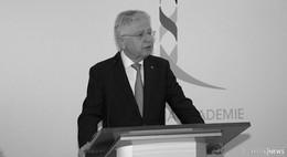 Ehemaliger Stiftungsratsvorsitzenden Hans-Joachim Jentsch verstorben