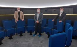 Wiedereröffnung des Planetariums im Vonderau Museum